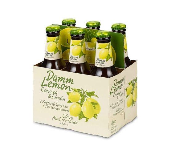 DAMM Lemon Pack 6 x 200ml 25cl