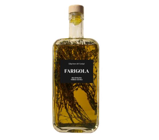 LLÀGRIMES DEL CANIGÓ Aceite de Oliva Aromatizado con Tomillo 500ml
