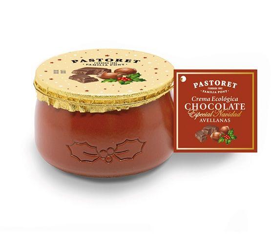 PASTORET Crema Ecológica  de Chocolate & Avellana 100g