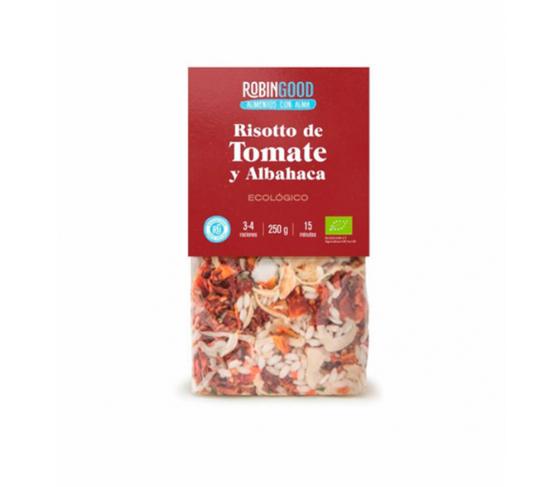 ROBINGOOD Risotto de Tomate y Albahaca ECO 250g