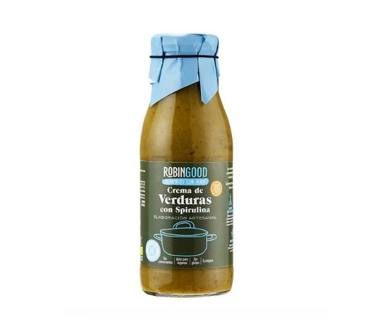 ROBINGOOD Crema de Verduras con Spirulina ECO 500ml