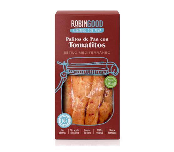 ROBINGOOD Palitos de Pan con Tomatitos 100g