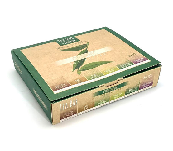ZENTEA Tea Bar Caja Collection Organic Est. 60 unidades