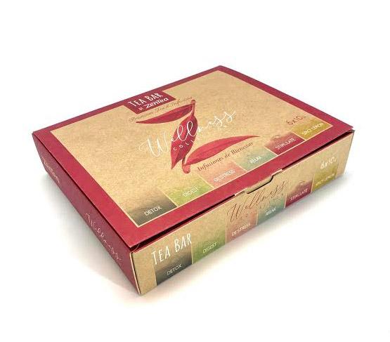 ZENTEA Tea Bar Caja Collection Wellness Est. 60un