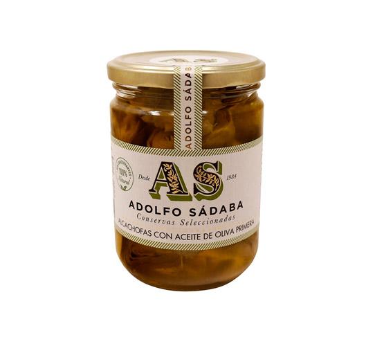 ADOLFO SÁDABA Alcachofas en Aceite 390g