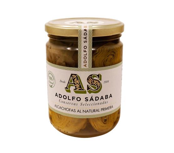 ADOLFO SÁDABA Alcachofas al Natural 445g