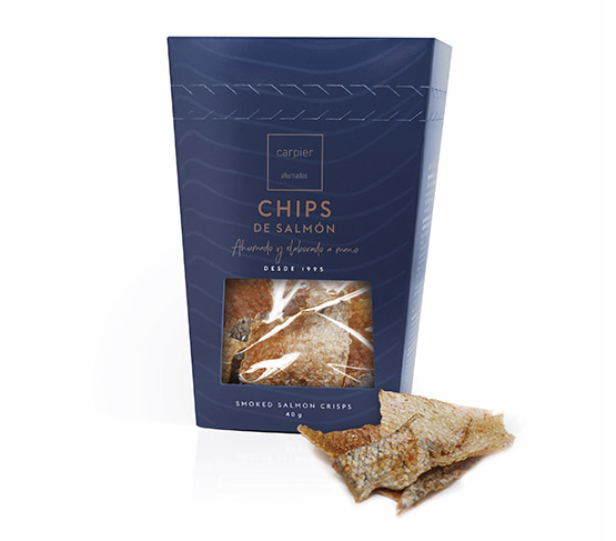 CARPIER Chips de Salmón 40g