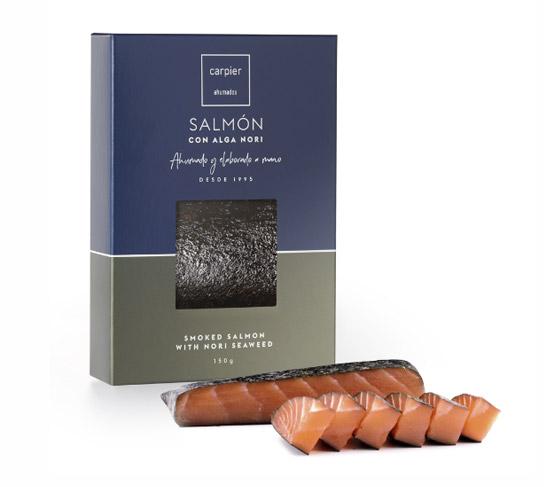 CARPIER Lomo Salmón Alga Nori 150g