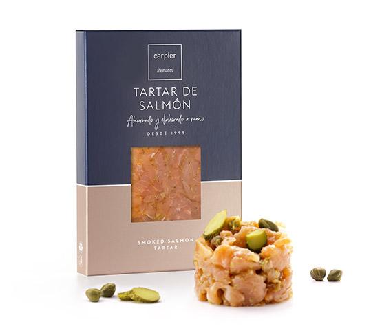 CARPIER Tartar de Salmón 100g