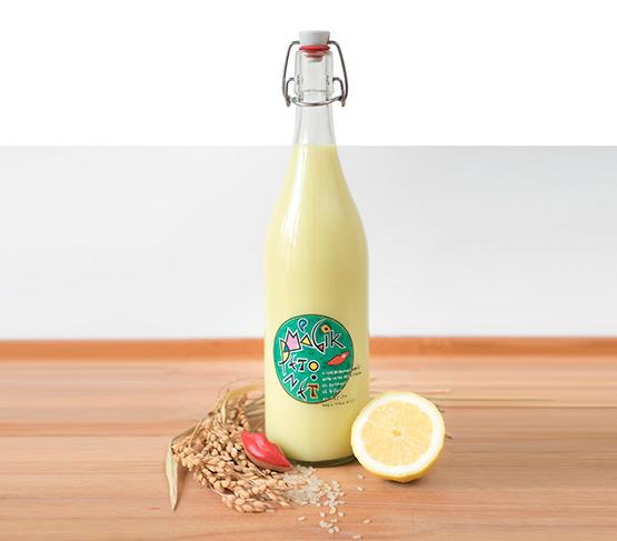 EL PETONET MAGIK Licor de Crema de Arroz con un Toque de Limón 1L