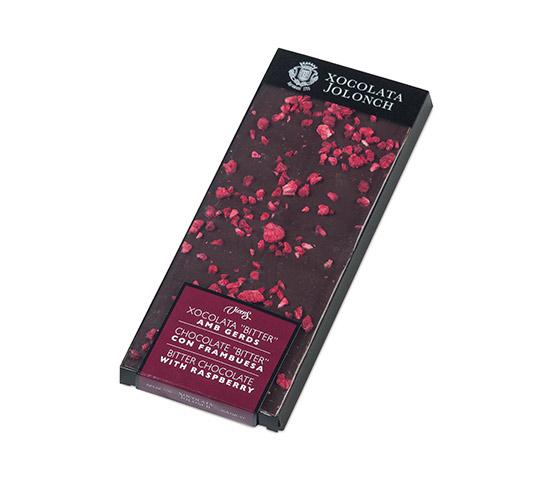 XOCOLATA JOLONCH Chocolate Bitter y Frambuesa 100g